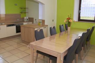 Sitzgruppe in der Küche